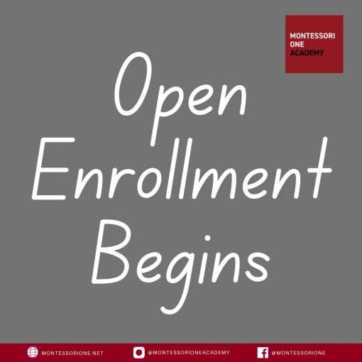 Open Enrollment Begins